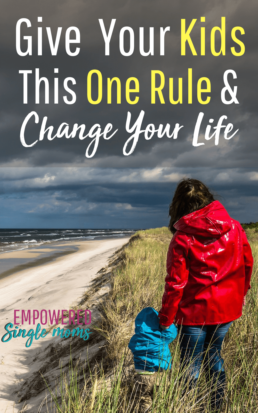 This parenting tip is the best rule for parenting boys and girls. Successful parenting will be so much easier when you use this rule. It is especially helpful for single parents. #parenting, #singlemom