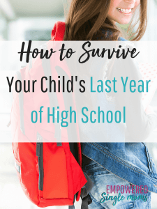 You will be glad your got these tips and insights on how to survive your child's senior year of high school.
