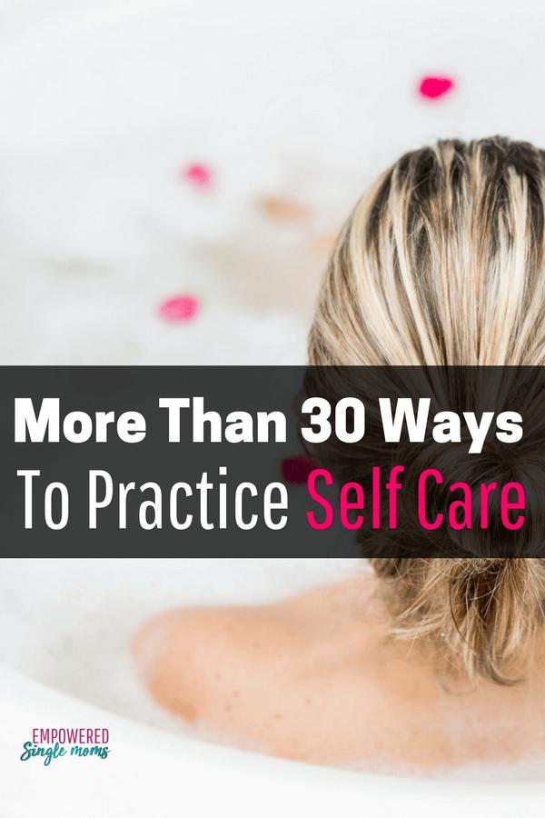 Self care plans