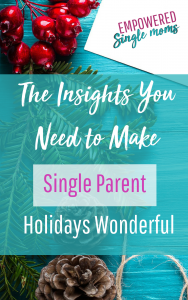 Christmas for single parent families can be amazing