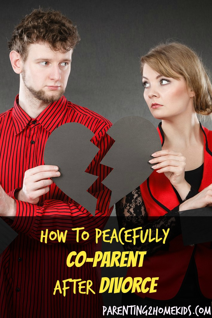 How to Peacefully Co-Parent when You Can't Live Together