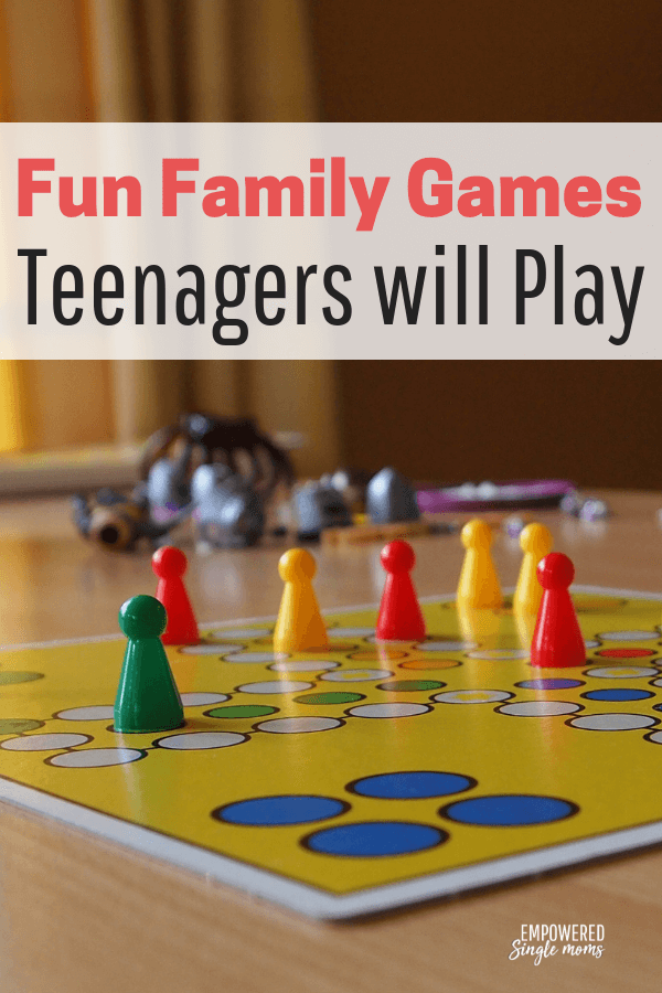 Family games for all ages even teenagers will play. These family games for Christmas and Thanksgiving get-togethers when you want to stay indoors away from the cold. Or give them at Christmas and play them all year long on family game night.