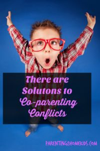 Solutions to co-parenting convfilict.