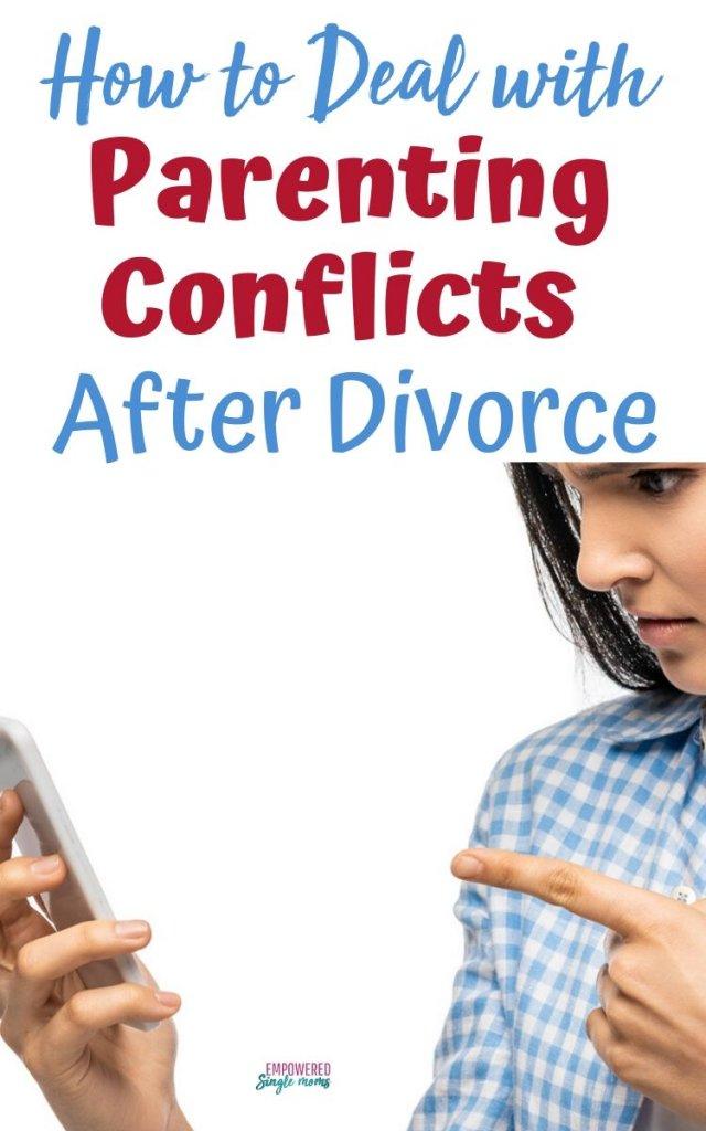 conflict with uncooperative co-parent