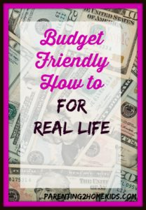 Real life fun on a budget.
