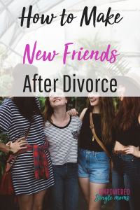 Making new friends after divorce can be fun