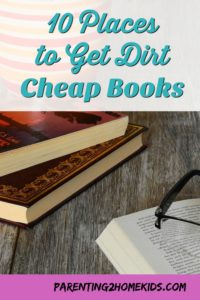 Where to find books for free or dirt cheap