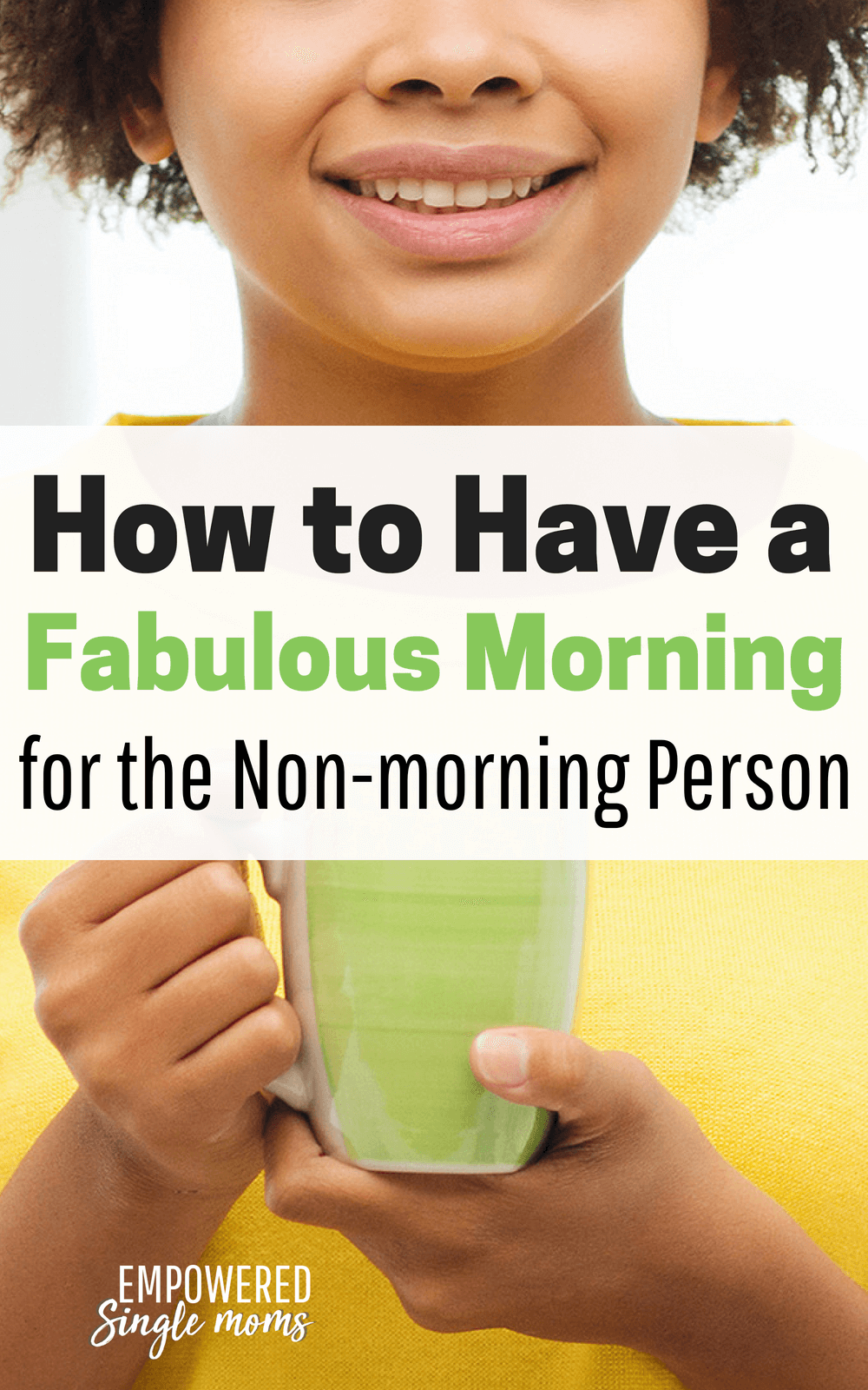 If you are not a morning person, this routine will make all the difference in making your morning the start to a good day. #routine, #morning