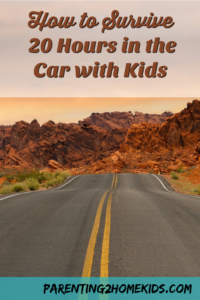 How to Survive 20 Hours in a Car with Children