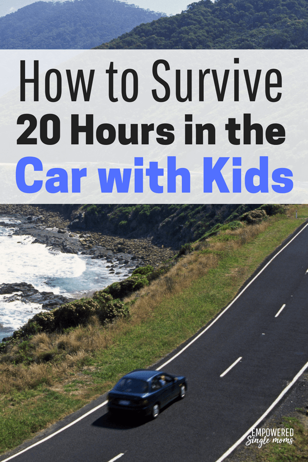 Road trip with kids, fun travel activities
