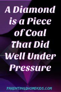 do well under pressure