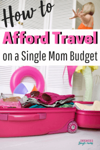 Do you long to travel? I did, but it is tough to make it happen on a single mom budget. Get these ideas on who to afford travel and start making those bucket list trips happen whether you are with your kids or going on your first solo trip.
