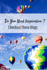 These blogs are fabulous reads when you need inspiration!