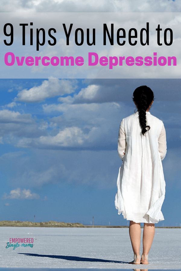 Get these 9 tools to overcome depression and print out the free worksheet to make your own self-care plan in dealing with depression. There is hope and these tools show you how to turn hopeless to hopeful. #selfcare, #depression