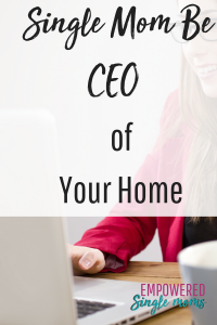 successful single mom learns to manage her home like a ceo