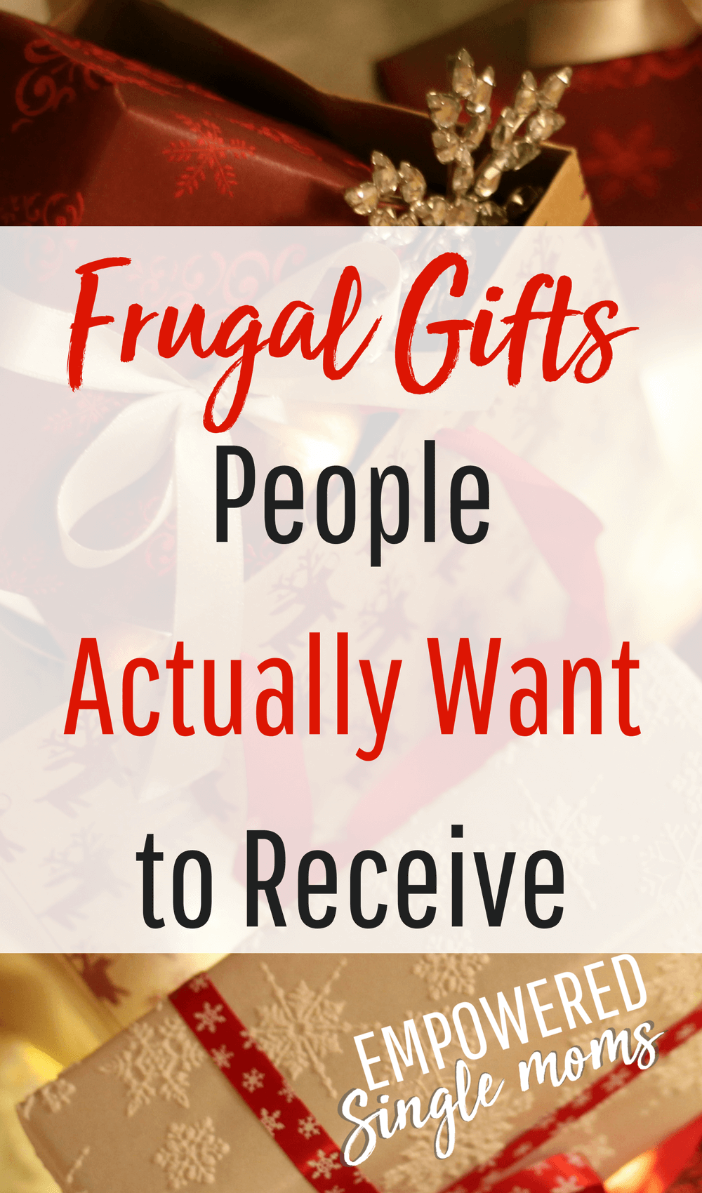 frugal gifts people like