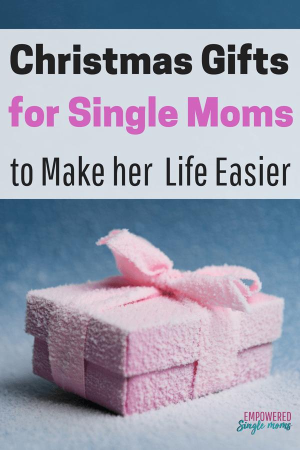 Christmas gift for single mom