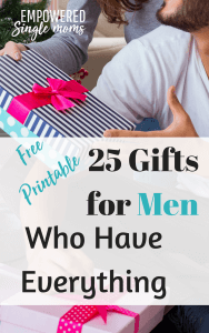 unique gifts for men who have everyting