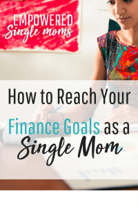 Finances are one of the first problems to solve as a #single mom. Having a #budget is a challenge that requires #goalsetting to go from surviving to thriving. These ideas give you the tools you need. #finance #budgetingtips