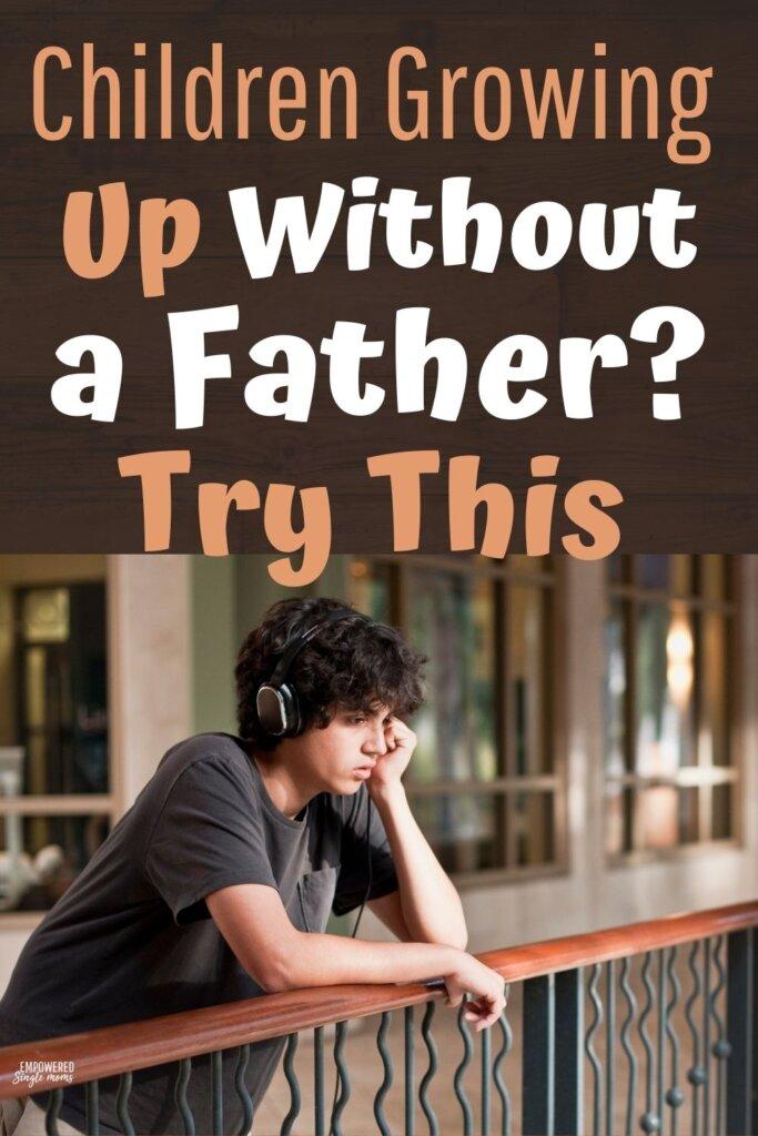 sad teen no dad