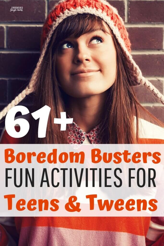 fun a activities for bored teens