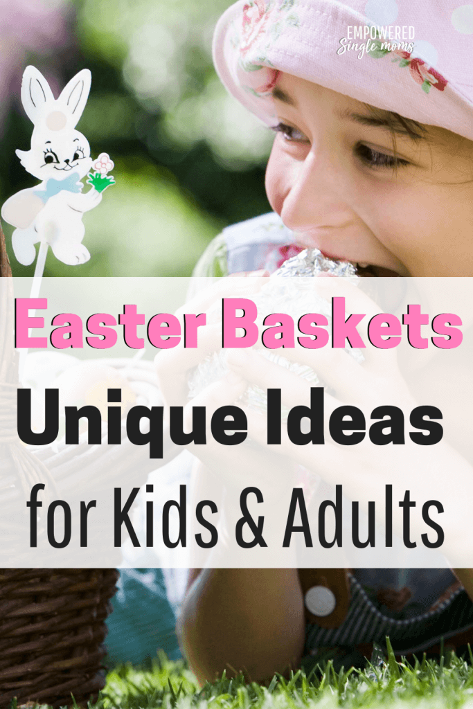 Creative ideas for Easter baskets that make the basket part of the gift. Fillers for your kids even for teens and young adults. Go beyond the stuffed bunny and chocolate.