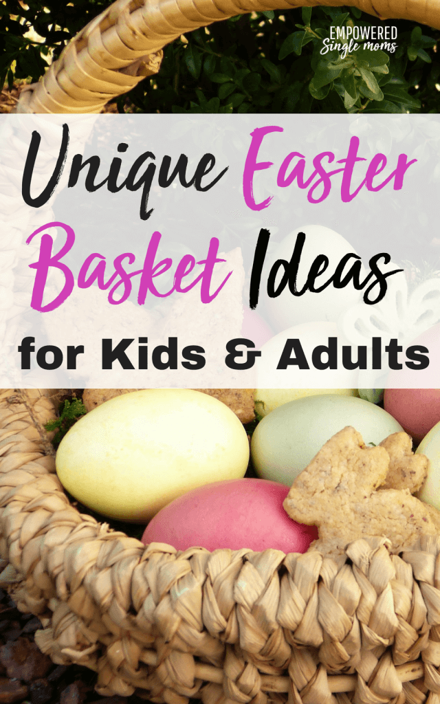 These creative Easter basket ideas will make you the hero for boys and girls. Even your teenagers and young adults will be pleasantly surprised at how well you know what they want.
