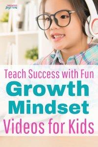 kid watching growth mindset video