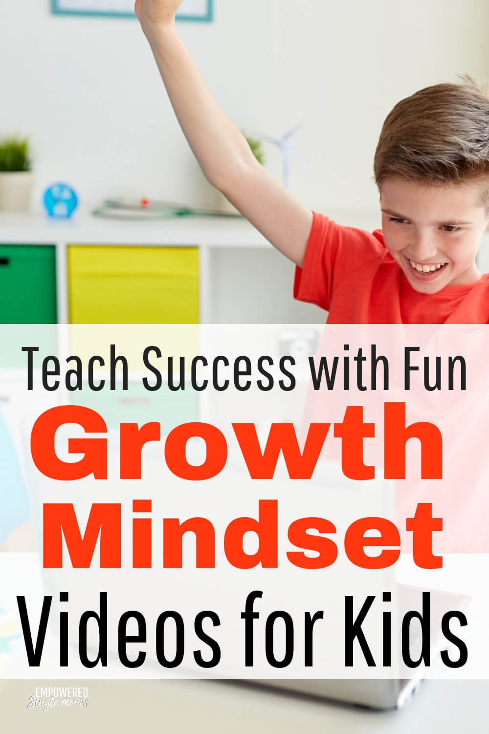 Fun YouTube videos to be successful by learning a growth mindset for preschoolers, middle school kids, teenagers and even adults