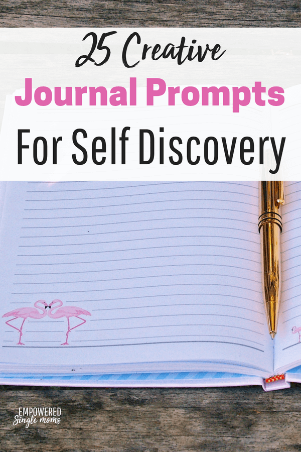 These journal prompts for adults and teens will guide you on your path to self discovery and improve your mental health. #selfdiscovery, #selfhelp, #journal