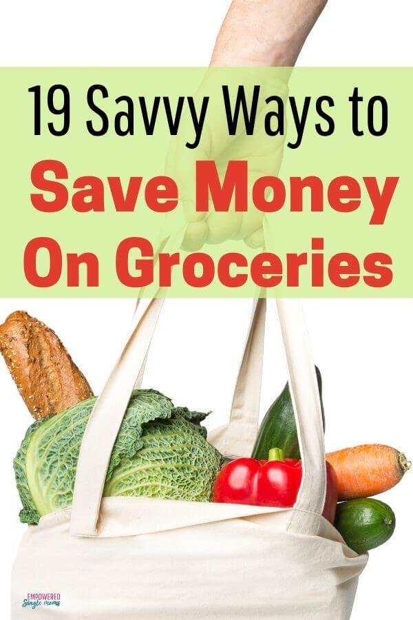 frugal tips to save on groceries