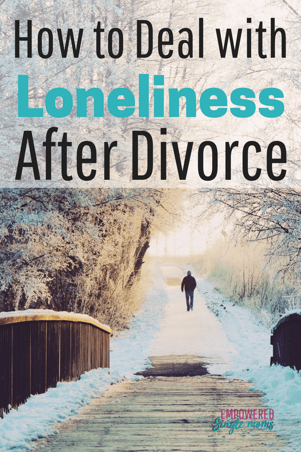 struggling with loneliness after divorce