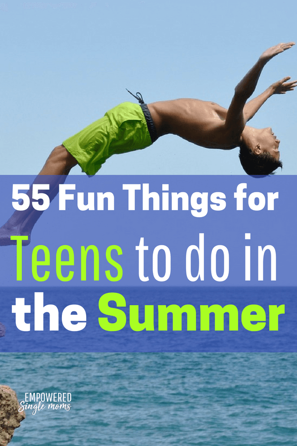 Fun summer activities for teens
