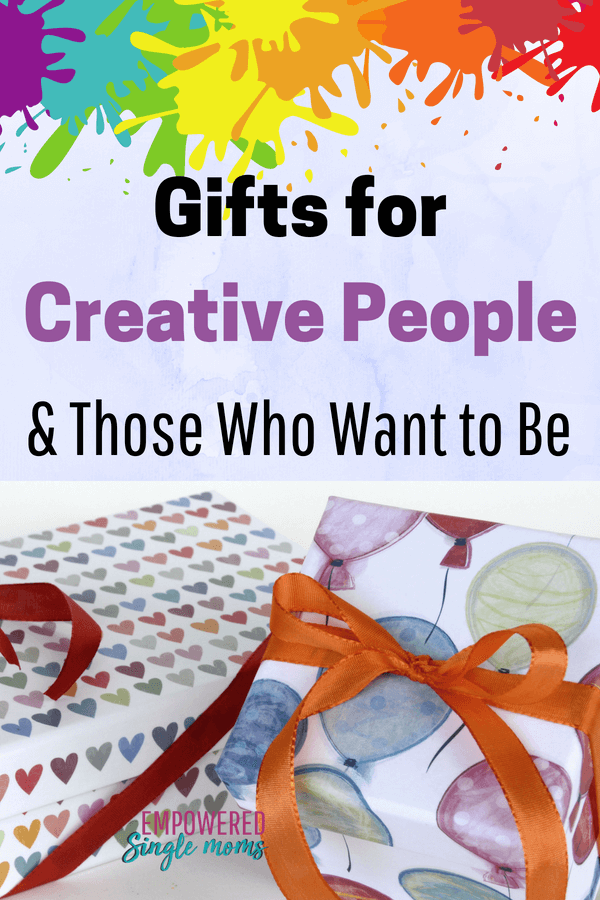 Over 37 gifts for creative people. These gift ideas will make you the hero whether it's Christmas or your fiend's birthday.