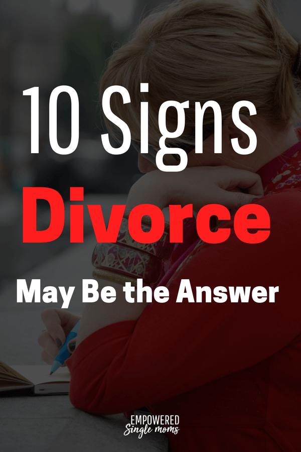 10 reasons to divorce