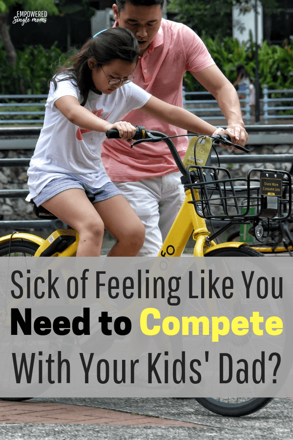 One of the problems kids of divorced parents have is when their parents compete for their love and attention. If you are in a co-parenting situation use these tips to stop competing and make life easier on your kids.