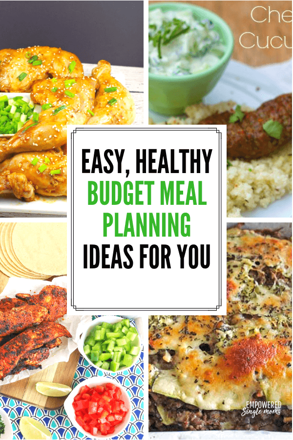If you are looking for new budget meal planning ideas these easy family friendly recipes are for you. Save money and eat healthy with these delicious recipes.