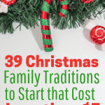 Fun family Christmas traditions to start even teenagers will love. There are ideas to make keepsake Christmas ornaments. These traditions are simple and meaningful activities for the night before Christmas and Christmas day.