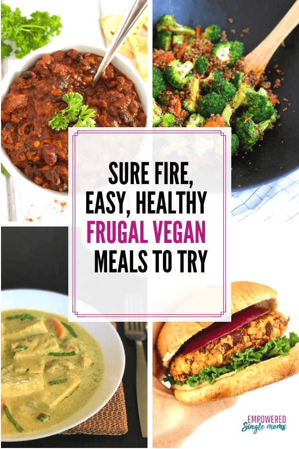 You will want to try these vegan meals. Healthy eating couldn't be easier with these plant based frugal meals. These dairy free meals will make meatless meals fun for your family.