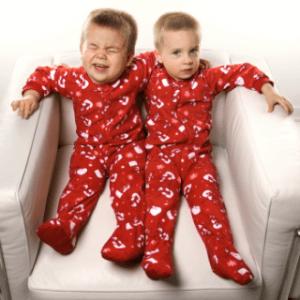 Fun Matching Family Pajamas for Christmas Morning Photo Shoot