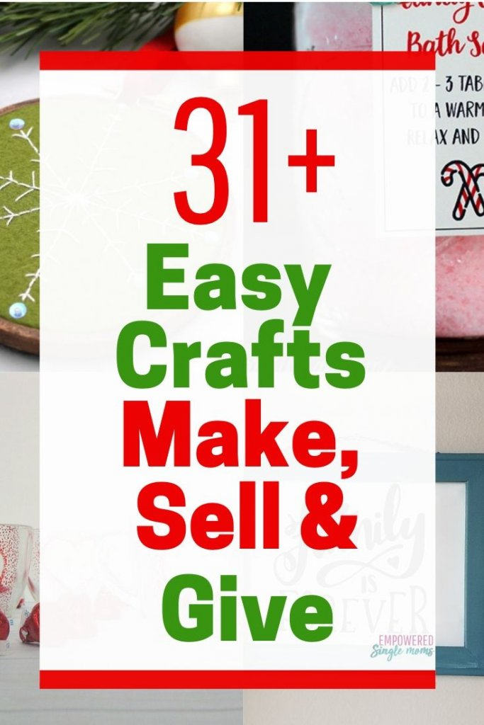 Make your Christmas gifts with these easy crafts
