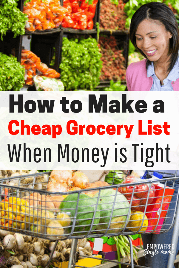 These money saving tips and budget meal ideas will make it easy to make a cheap grocery list. Your kids will love these basic recipes. These are fantastic ideas whether you are a college student cooking for one or you are cooking for a a family of 4, 6 or even more.