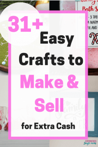 DIY crafts to make and sell for a profit
