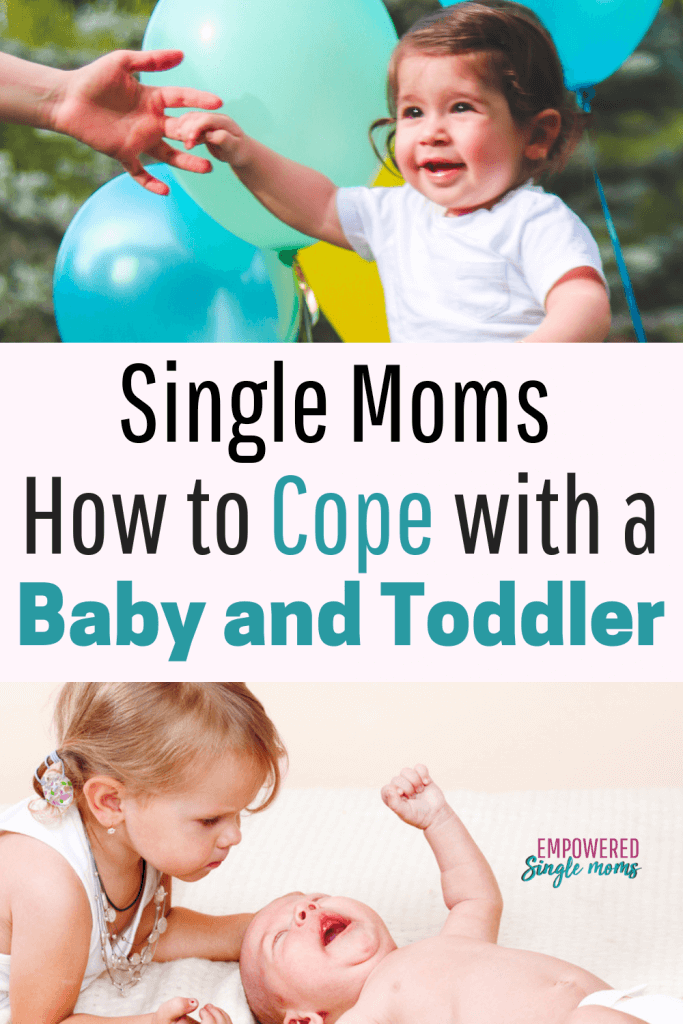 Coping as a single mom with no help is overwhelming. Get your toddler and infant on a schedule and you will have less stress and more sleep. Fabulous tips and tools to cope as a single mom.