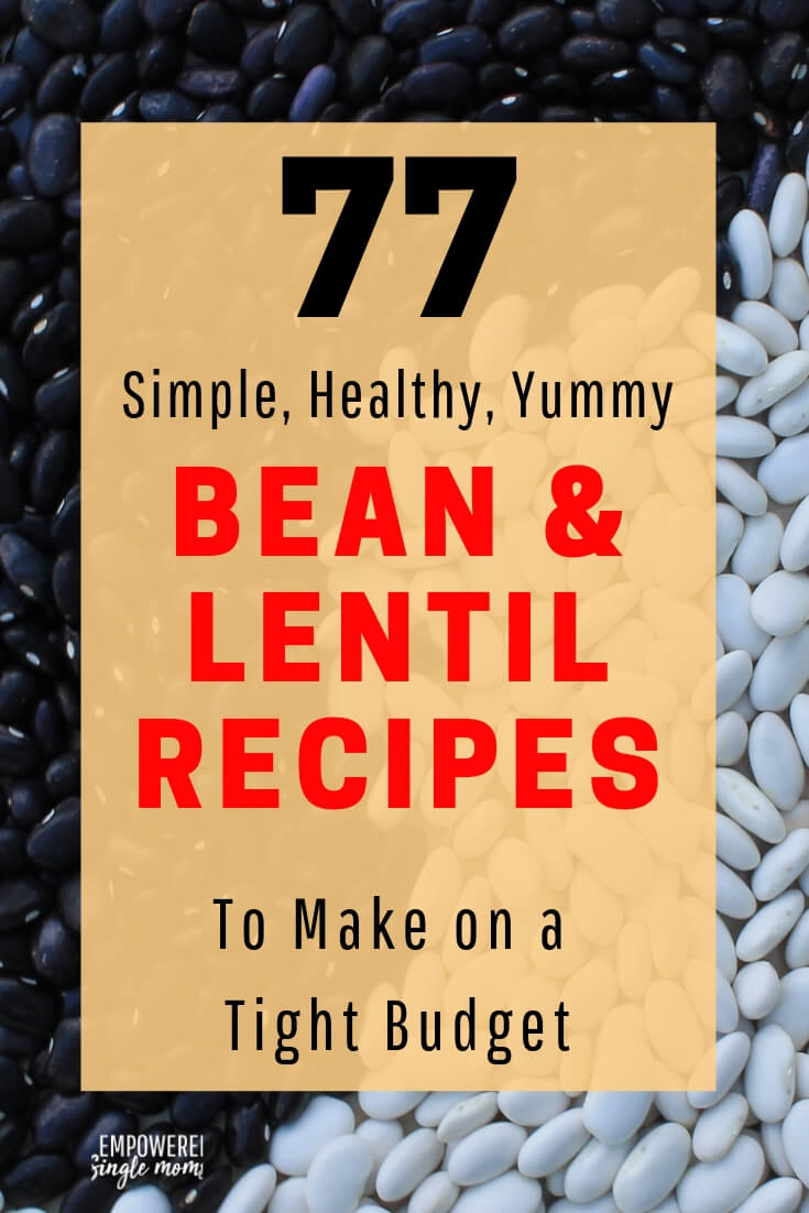 Learn how to cook beans with these healthy recipes. Get these recipes for black, pinto, white, red, garbanzo, mixed beans. You will find a variety of recipes including several delicious homemade soup recipes, instant pot, and slow cooker bean recipes.
