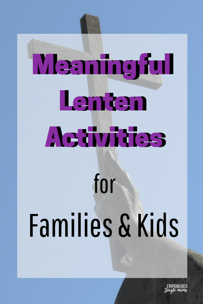 Lent isn't just for Catholics. Get ideas about what to give up for Lent or add meaningful activities like personal or family devotion time. For younger kids try a Lenten craft project.