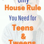 Free printable house rules for teens and tweens