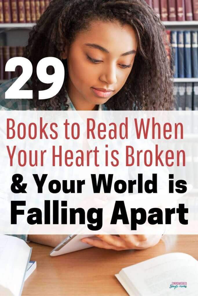 When you are full of sadness and grief with a broken heart these inspirational self help books will help you keep going and heal from divorce or a break-up. Single moms recommend these books when thinking about the lessons learned in healing.