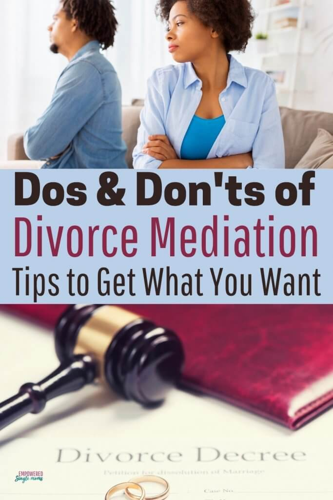 Get what you want in divorce mediation