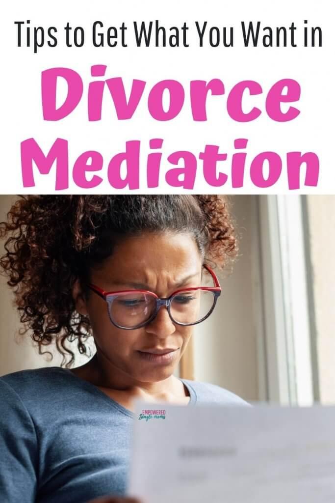 divorce advice for mediation